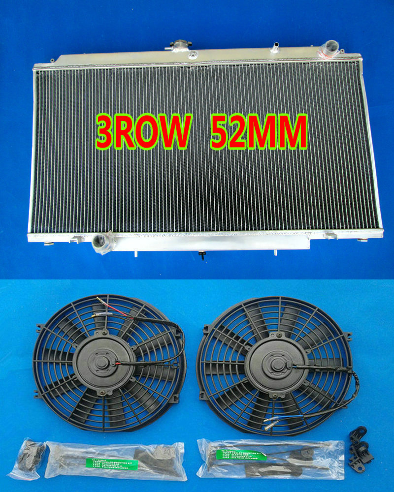 Oil Coolers Hearty Aluminum Radiator For Nissan Gu Patrol Y61 Td 4.2l Automatic 3 Row High Quality