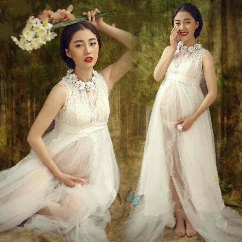 Maternity Dresses White Materni