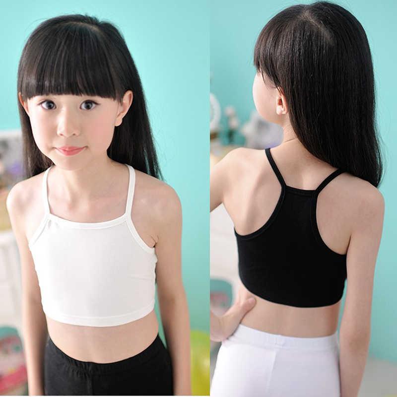 Girls Camisole Baby Girls Tops Dancing Clothes Child Tank Girls Underwear  Tank Tops Traning Bras Tanks & Camis  - AliExpress
