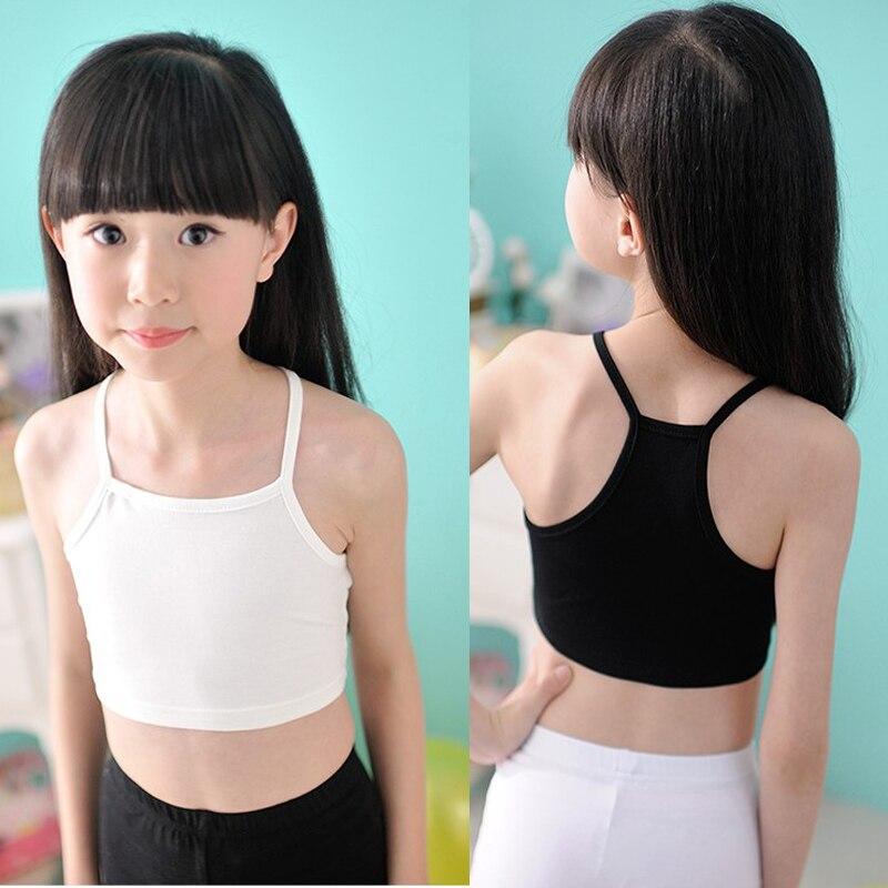 Girls camisole baby girls tops dancing clothes child tank girls underwear tank tops traning bras girl
