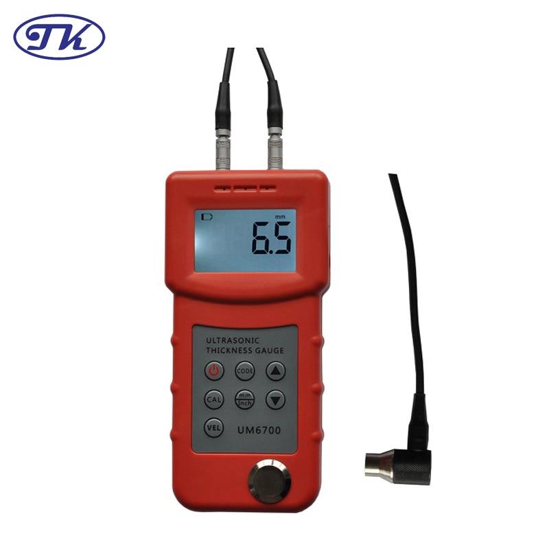 UM6700 skaitmeninis nešiojamas tikslus ultragarso storio matuoklis, - Matavimo prietaisai - Nuotrauka 2