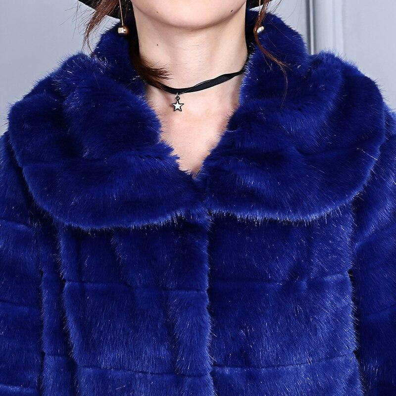 Supérieure Fluffy Nerazzurri De Manteau Faux Vison Fourrure 5xl 6xl Des Femmes À Grande Taille blue Pardessus Outwear Furry Bleu Manches Camel Chaud Longues Qualité wwqP1OEry