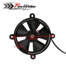 CNC Dirt Pit Bike Motorcycle ATV Quad  Oil Cooler Water Cooler Radiator Electric Cooling Fan