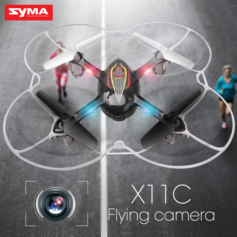 Original SYMA X11C RC Dron Quadcopter 2.4G 4CH 6 AIXS GYRO 3D Mini Drone with Camera High Quality Helicopter Toys for Children