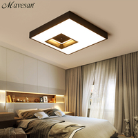 2018 LED Living room Ceiling Lamp with remote control Indoor home led light ceiling plafondlamp 90V 260V for 15 25square meters