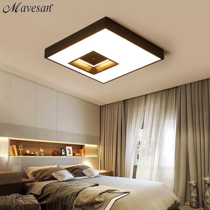 Led Wohnzimmer Decken Lampe Mit Fernbedienung Indoor Hause Führte Licht Decke Plafondlamp 90 V-260 V Für 15-25square Meter Licht & Beleuchtung