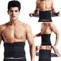 2017 hot corset cincher tummy cinturão body shaper cintura instrutor dos homens das mulheres casuais cinto cinta poder xtreme controle slimming terma