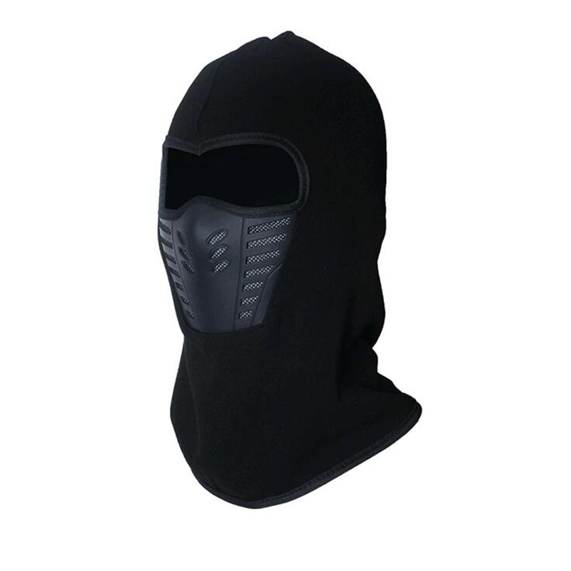 Winter Warm Full Face Cover Fleece Windproof Anti Dust Ski Mask Balaclava Hood Rubber Breathable Vent Multi-function Beanies Reasonable Price
