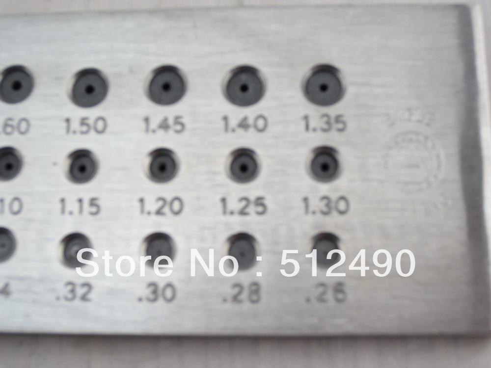 Ювелирный drawplate, ювелирный drawplate со всеми размерами, вольфрам-карбидная рабочая доска