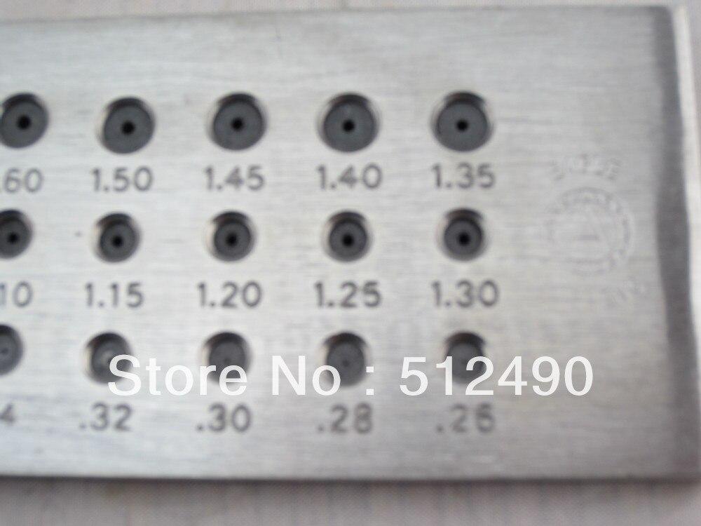 Plaque de serrage de bijoux, plaque de serrage de bijoux avec toutes les tailles, plaque de traction en carbure de tungstène