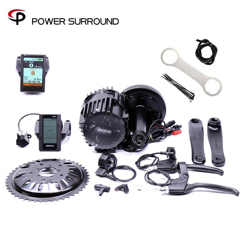8fun/bafang 48v1000w BBSHD electric bike motor kit for bottom bracket 68mm 100mm 120mm fat bike