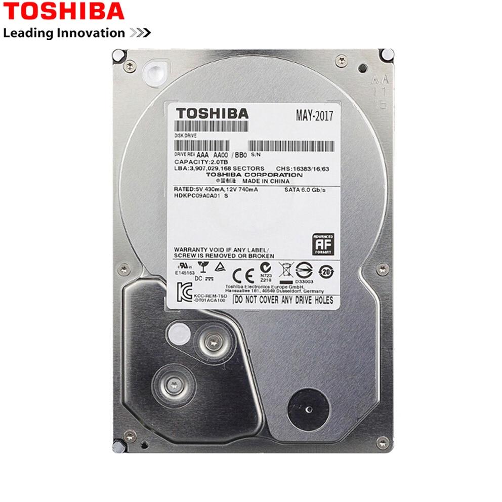 US $48 55 20% OFF|TOSHIBA HDD 3 5 1TB SATA Hard Disk 1000 GB 1 T Disco Duro  Interno Internal HD HDD 7200 RMP 32 M 3 5