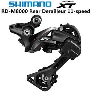 Image 1 - SHIMANO DEORE XT RD M8000 arka attırıcı dağ bisikleti M8000 GS SGS MTB vites 11 Speed 22/33 Speed