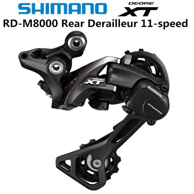 SHIMANO DEORE XT RD M8000 arka attırıcı dağ bisikleti M8000 GS SGS MTB vites 11 Speed 22/33 Speed