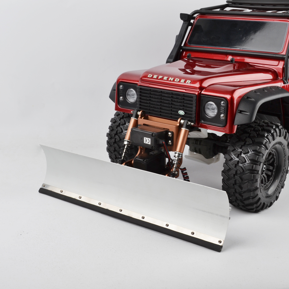 1/10 RC TRX4 Radio Control Snow Shovel And Servo Snow Sweeping Tools For RC Traxxas TRX4 TRX-4 Upgrade Part TRX4 Accessories