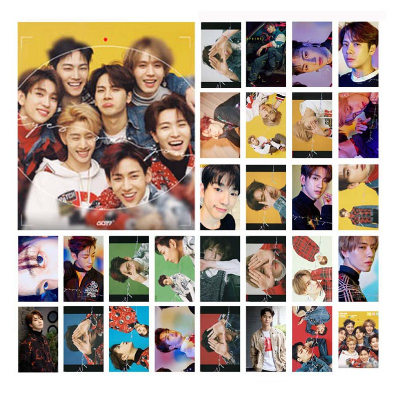 Office & School Supplies School & Educational Supplies Supply You Kpop Got7 Album Lomo Cards New Fashion Self Made Paper Photo Card Stationary Set Online Shop
