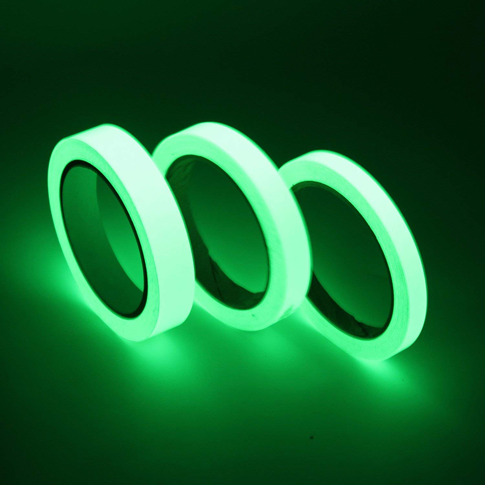цена на Hot sale Luminous Tape Self-adhesive Glow In The Dark Safety Stage Home Decorations Warning Tape available in 10M*15mm 3M*20mm
