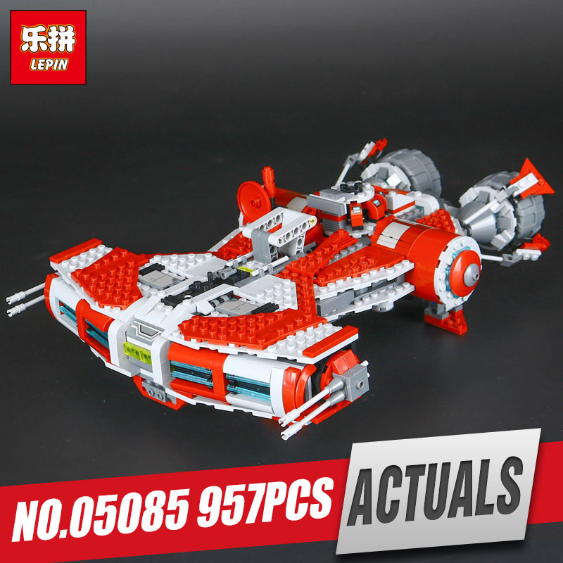 Lepin 05085 Genuine Star Series  Je set di model Defender set Class toy Cruiser Set 75025 Building Blocks Bricks Wars Toys gift new 1 4 npt to 6mm compression male elbow double ferrule stainless steel 304 fittings