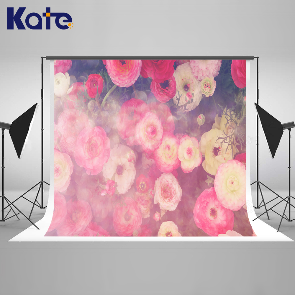 Kate Flower Newborn Photography Background Pink Floral Background Photography Romantic Photo Studio Background Backdrop our kate