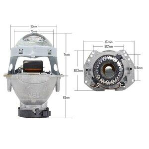 Image 2 - TAOCHIS 2pcs Auto Car Headlight 3.0 inch Bi xenon Hella 3R G5 5 Projector lens Car styling Retrofit head light Modify D2s