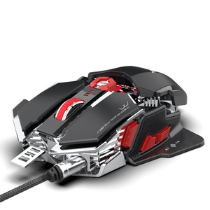 Image 3 - ZERODATE 4000 DPI USB Wired Competitive Gaming Mouse 10Programmable Buttons Mechanical Macro Definition Programming Game Mice