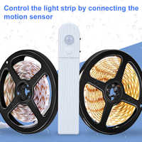 Motion Sensor Led Light Strip 5V Neon Led Diode Tape SMD 2835 Dimmable TV Backlight Bed Stairs Home Kitchen Lighting Waterproof