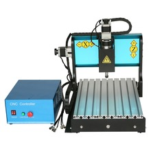 Low-priced mini CNC – 3020 4 axis engraving machine