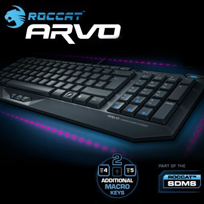 733208e38fd Roccat Arvo Compact Gaming Keyboard, Original and Brand NEW in BOX, Fast &  Free shipping.