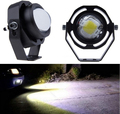 New Led Car Fog Lamp Super Bright 1000LM 10W DRL Eagle Eye Light Daytime Running Lights Reverse Backup Parking Waterproof