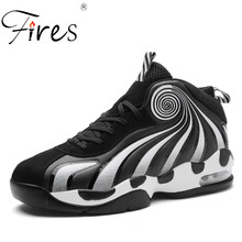 Fires Men Running Shoes Non-slip Sport Shoes Outdoor Basketball Shoes Male Breathable Training Shoes Soft Light Man Sneaker