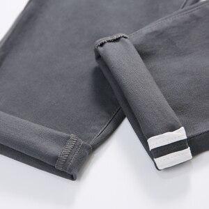 Image 5 - Jantour אביב קיץ חדש מכנסי קזואל גברים כותנה Slim Fit מכנסי כותנה באורך קרסול מכנסיים אופנה מכנסיים זכר מותג בגדים 27