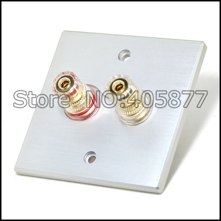 Hi-End Home theater gold plated Wall binding post hifi binding post terminal socket on the wall gold plated socket pixhawk px4 247