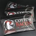 1 Bolsas de la Nueva Llegada de Algodón Orgánico Tocino Algodón Para RDA RDA RBA Atomizador DIY Cigarrillo electrónico Cigarrillo electrónico Alambre de Calor algodón