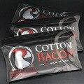 1 Saco Nova Chegada Algodão Orgânico Bacon Algodão Para RDA RBA RDA Atomizador DIY Cigarro Eletrônico Cigarro e Fio de Calor algodão