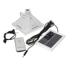 25 LED Solar Light High Bright Solar Powered Camping Lamp Remote Control Hanging Outdoor Tent Light Fishing Lantern