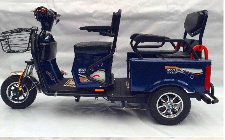 TJ-XZ-014-Electric passenger tricycle