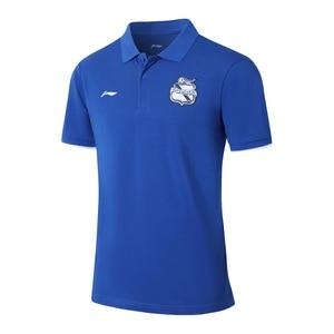 Image 3 - Li Ning Men Puebla Club Polo Shirt Regular Fit Breathable Comfort LiNing li ning Sports T shirts Tees Tops APLM133 MTP500