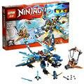 [Bainily] 378 UNIDS Lepin Building blocks Ladrillos Ninja Wars Pirata compatible con legoe Volando juguetes para niños de juguete de regalo