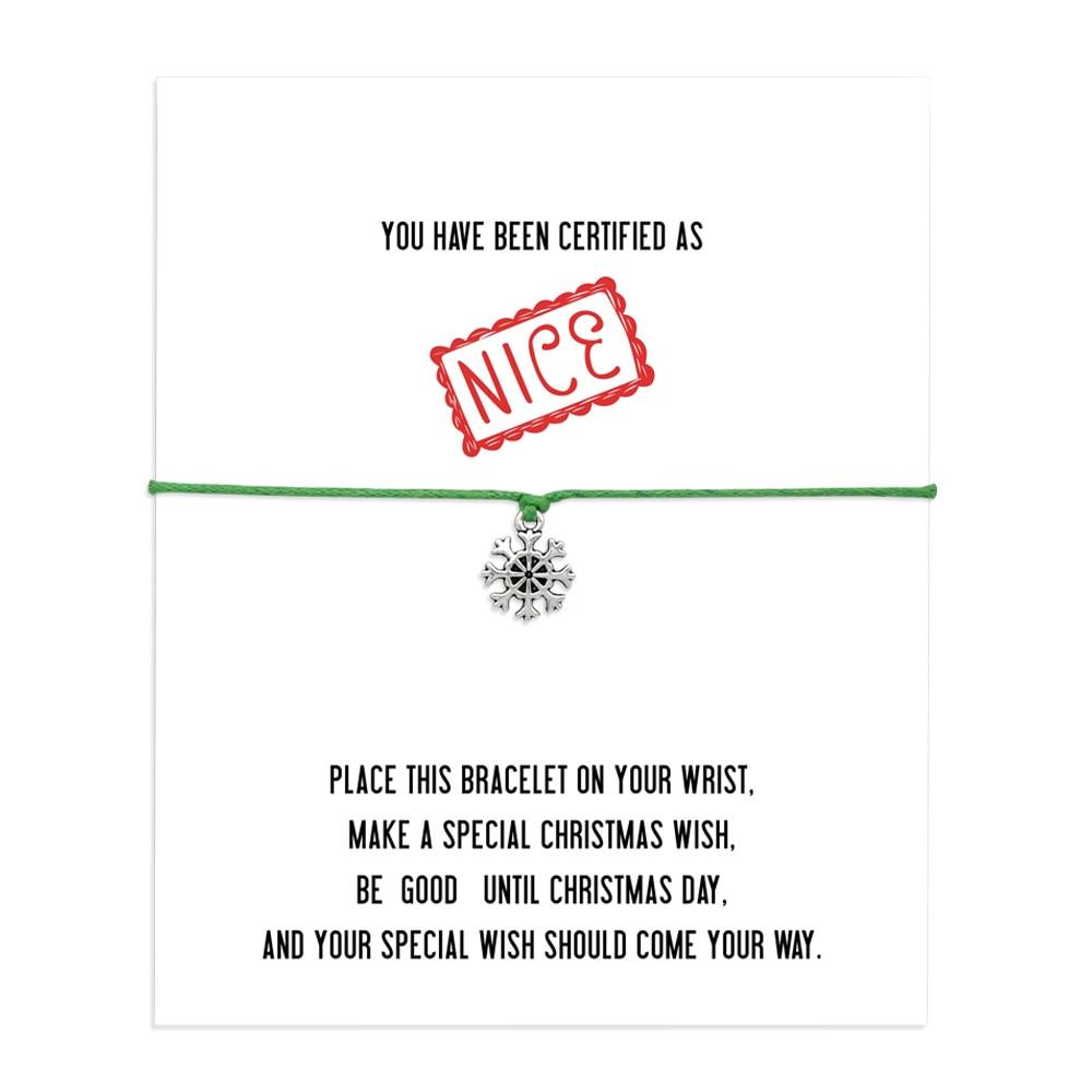 Gift Friendship Wish Upon A Star Christmas Wish Xmas * Wish Bracelet