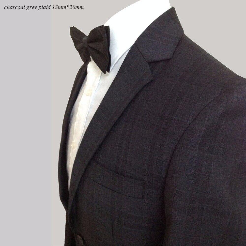 Клетчатый мужской костюм изготовленный на заказ темно серый клетчатый костюм для мужчин, сделанный на заказ Charocoal серый мужской Клетчатый Б