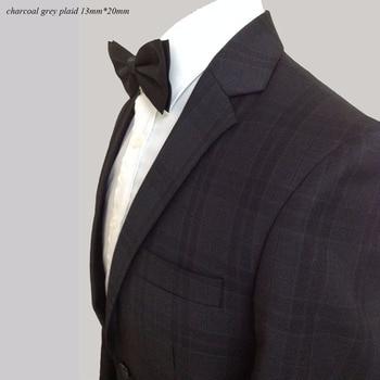 Mens Plaid Suits Custom Made Charcoal Grey Plaid Suits For Men,Tailor Made Charocoal Gray Mens Plaid Blazer, Men Plaid Suit фото