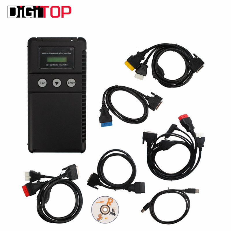 Mut 3 Mut III Scanner for Mitsubishi MUT-3 for Cars and Trucks with Coding Function Mut Scanner