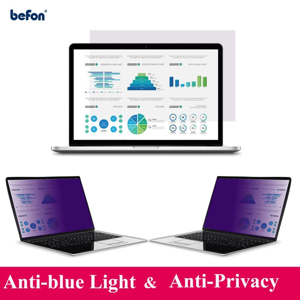 Befon 14 polegada Filtro de Privacidade para Widescreen 16:9 Monitor de Laptop Notebook Filme Filme Protetor de Tela Anti-reflexo 310 milímetros * 174 milímetros