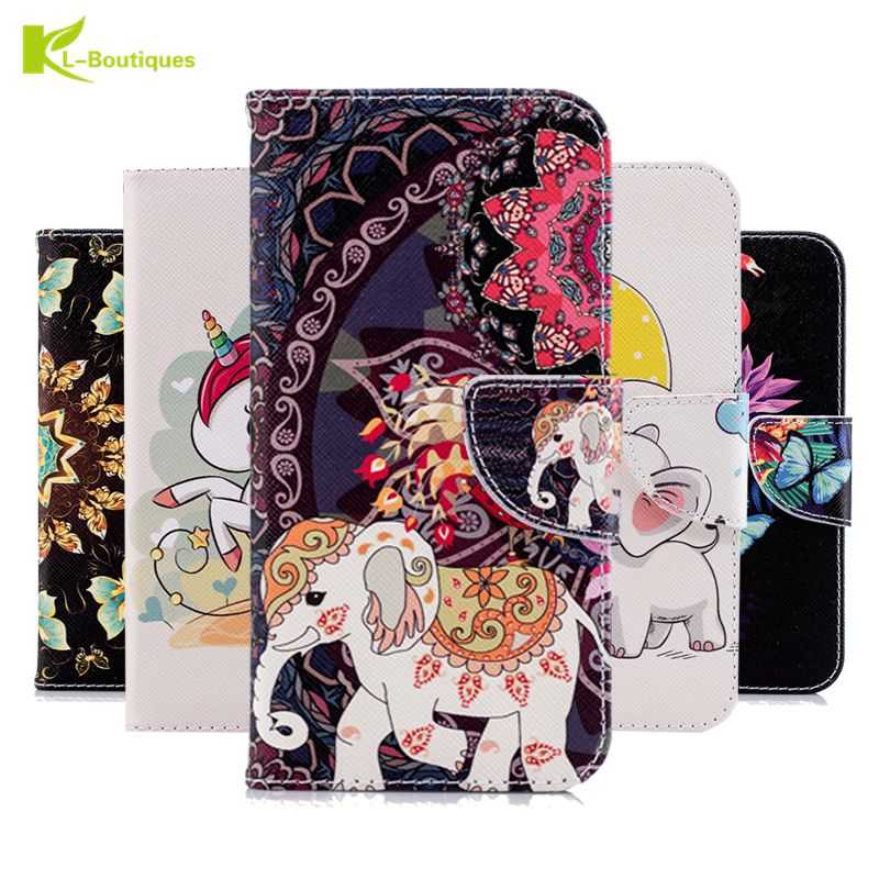 J4 2018 Leather Case on sFor Coque Samsung Galaxy J4 2018 Case for Fundas Samsung Galaxy J4 2018 Case Flip Cover Wallet Cases