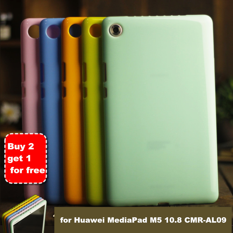 Mediapad M5 Pro Case for Huawei MediaPad M5 10.8 CMR-AL09 CMR-W09 CMR-W19 Tablet Case Soft Silicone TPU Back Cover case цена