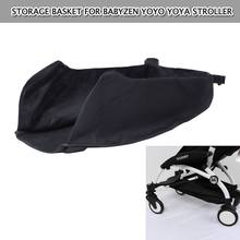 Детская коляска Коляска прикрепляемая бутылка для напитков корзина для хранения продуктов питания для Babyzen yoyo yoya коляска крюк и петля фиксированная регулируемая