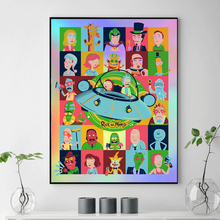 Rick And Morty Characters Canvas Painting Print Living Room Home Decoration Modern Wall Art Oil Salon Pictures Artwork