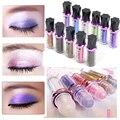 11 Cores/lot Diamante Brilhante Colorido Fluorescência Brilhar Brilho Lápis Sombra de Olho Sombra Em Pó Mineral Bola Sombra Em Pó