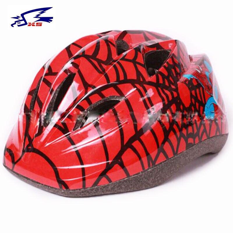 Capacete da bicicleta caixa legal capacete da bicicleta crianças capacetes de segurança protetor de cabeça equitação bicicleta ciclismo meninos criança capacete
