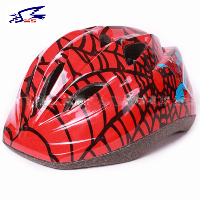 Bicycle Kids Helmets Safety Childrens Helmet Riding Bike Cycling Spiderman Free Shipping P113